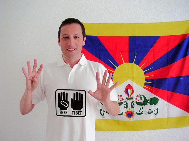 Oliver Broumis für 9 Fingers for Tibet