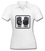 Free Tibet Girls - Large Print